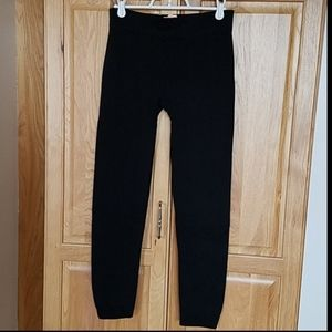 Pants - Black seamless extra soft stretchy leggings(0-12)